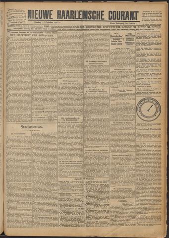 Nieuwe Haarlemsche Courant 1927-10-11