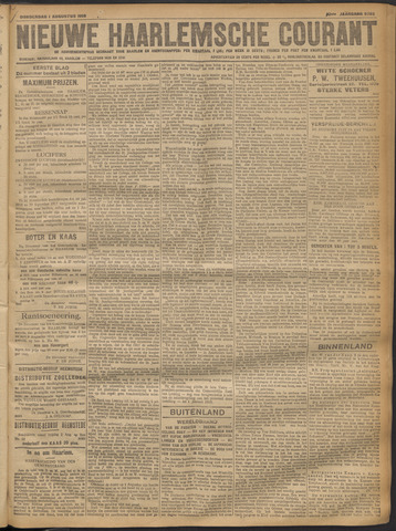 Nieuwe Haarlemsche Courant 1918-08-01