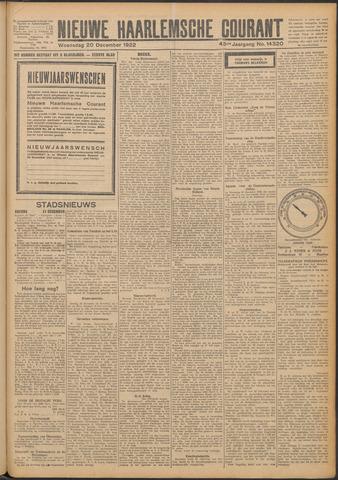 Nieuwe Haarlemsche Courant 1922-12-20