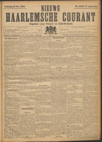 Nieuwe Haarlemsche Courant 1906-11-24