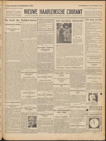 Nieuwe Haarlemsche Courant 1932-10-20