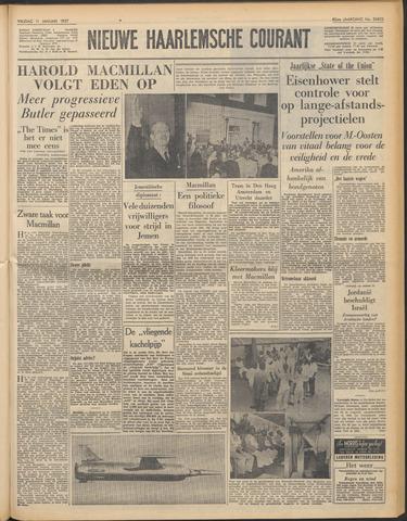 Nieuwe Haarlemsche Courant 1957-01-11