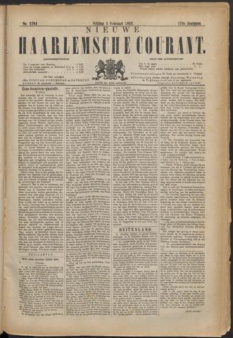 Nieuwe Haarlemsche Courant 1892-02-05