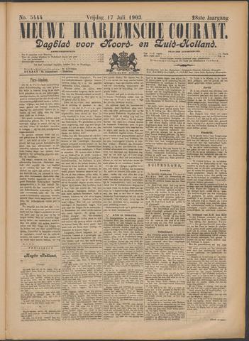 Nieuwe Haarlemsche Courant 1903-07-17