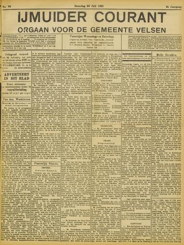 IJmuider Courant 1921-07-30