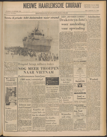 Nieuwe Haarlemsche Courant 1965-11-29
