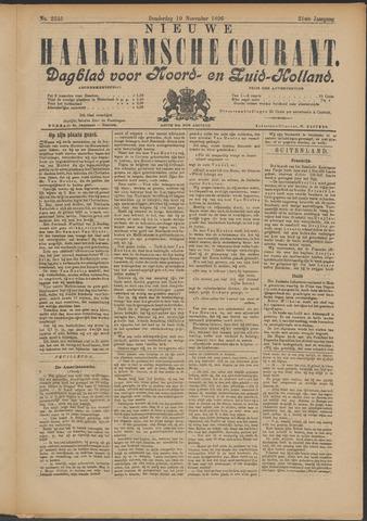 Nieuwe Haarlemsche Courant 1896-11-19