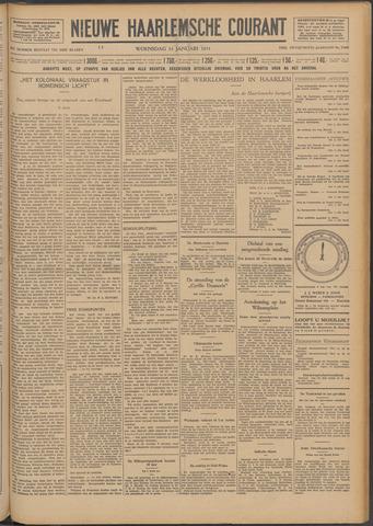 Nieuwe Haarlemsche Courant 1931-01-14