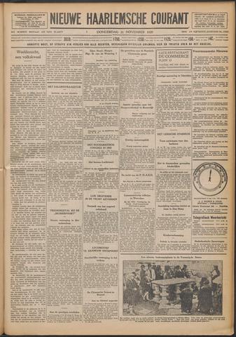 Nieuwe Haarlemsche Courant 1929-11-21