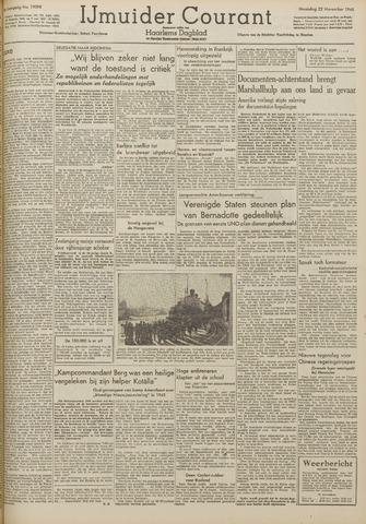 IJmuider Courant 1948-11-22