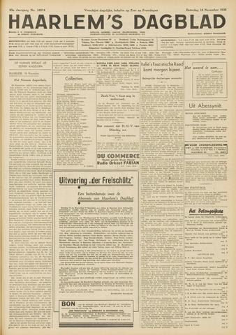 Haarlem's Dagblad 1935-11-16