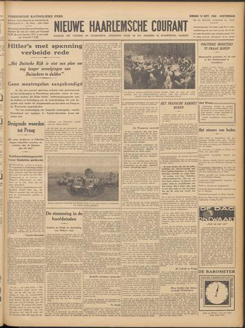 Nieuwe Haarlemsche Courant 1938-09-13