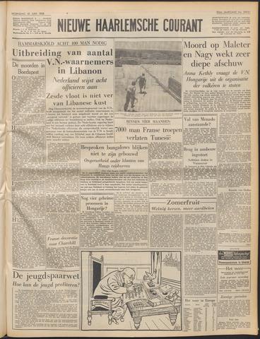 Nieuwe Haarlemsche Courant 1958-06-18