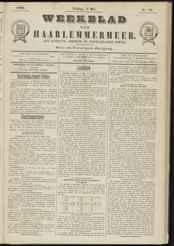 Weekblad van Haarlemmermeer 1882-05-05