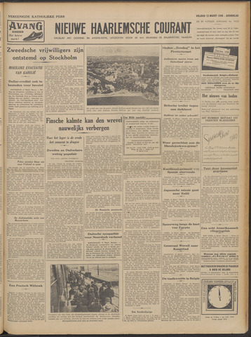 Nieuwe Haarlemsche Courant 1940-03-15