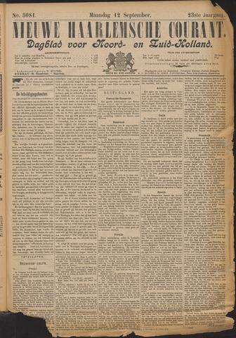 Nieuwe Haarlemsche Courant 1898-09-12