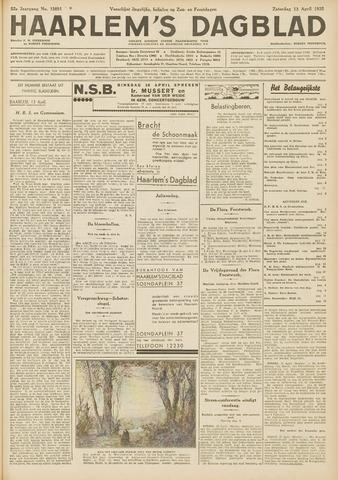 Haarlem's Dagblad 1935-04-13