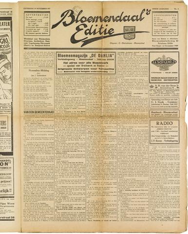 Bloemendaal's Editie 1927-11-19