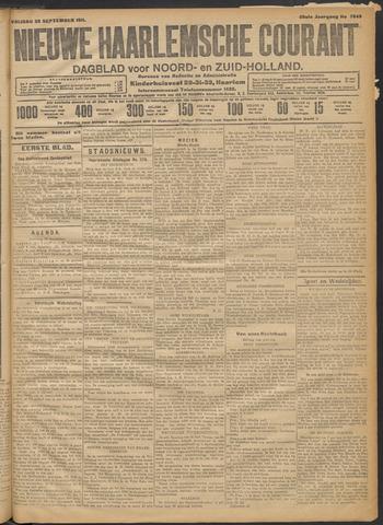 Nieuwe Haarlemsche Courant 1911-09-29
