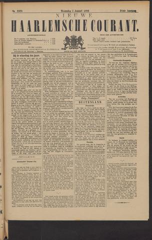 Nieuwe Haarlemsche Courant 1896