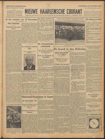 Nieuwe Haarlemsche Courant 1933-10-26