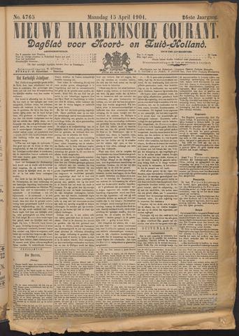 Nieuwe Haarlemsche Courant 1901-04-15