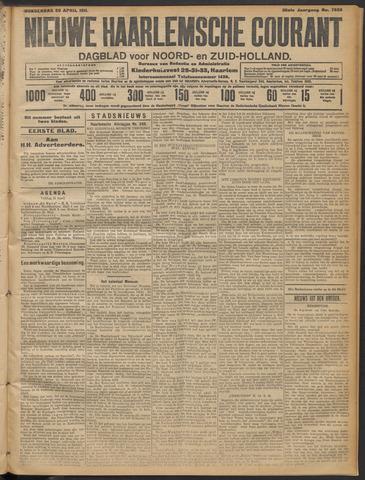 Nieuwe Haarlemsche Courant 1911-04-20