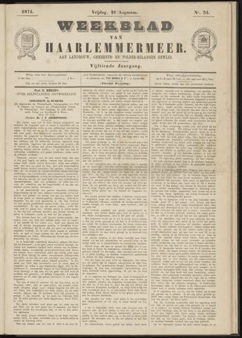 Weekblad van Haarlemmermeer 1874-08-21
