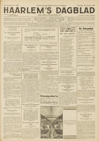 Haarlem's Dagblad 1935-08-28