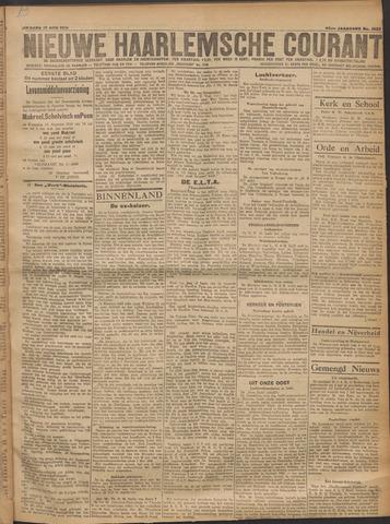 Nieuwe Haarlemsche Courant 1919-08-12