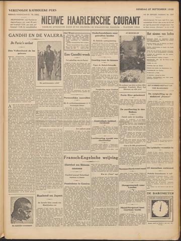Nieuwe Haarlemsche Courant 1932-09-27