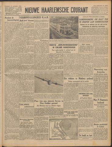 Nieuwe Haarlemsche Courant 1950-01-10