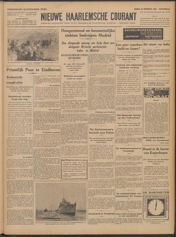 Nieuwe Haarlemsche Courant 1936-11-29
