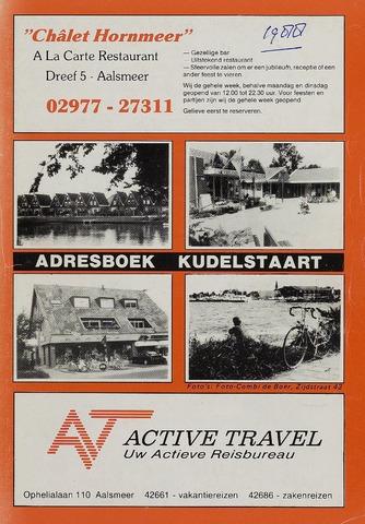 Adresboeken Aalsmeer 1988