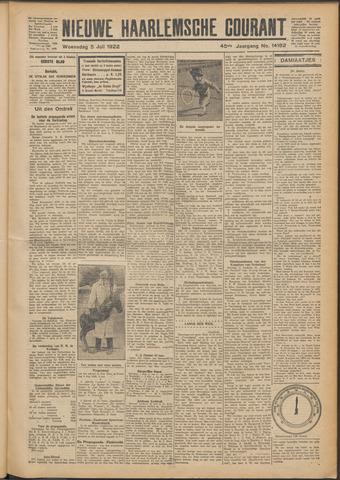 Nieuwe Haarlemsche Courant 1922-07-05