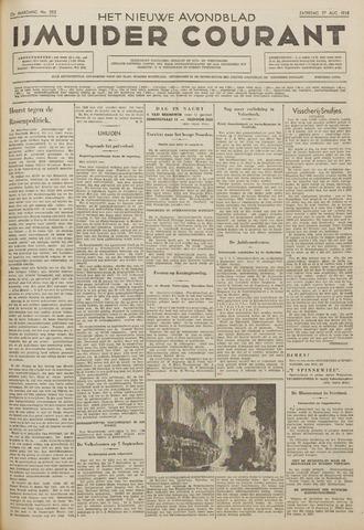 IJmuider Courant 1938-08-27