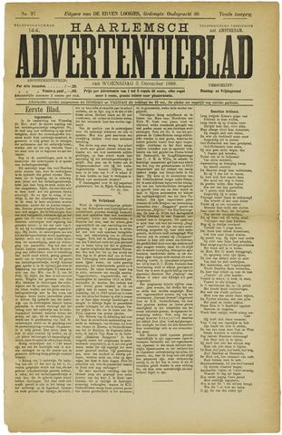 Haarlemsch Advertentieblad 1888-12-05