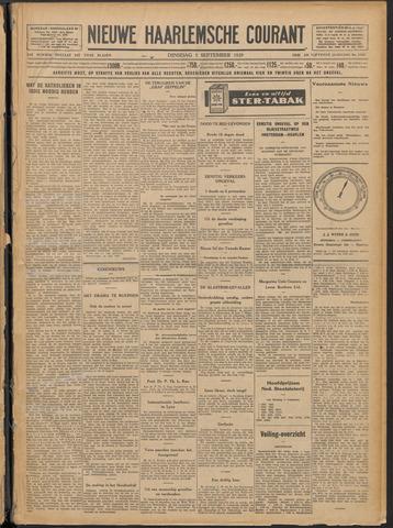 Nieuwe Haarlemsche Courant 1929-09-03