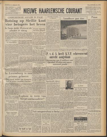 Nieuwe Haarlemsche Courant 1954-02-18