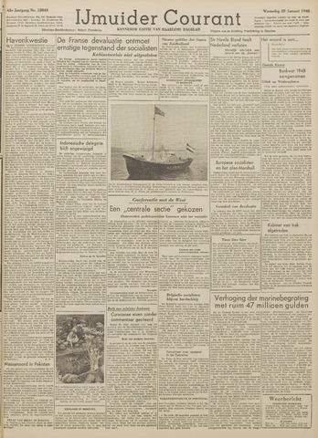 IJmuider Courant 1948-01-28