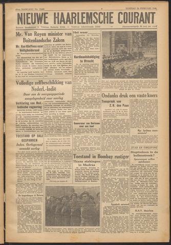 Nieuwe Haarlemsche Courant 1946-02-26