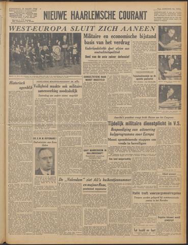 Nieuwe Haarlemsche Courant 1948-03-18