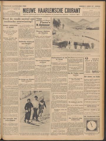 Nieuwe Haarlemsche Courant 1937-01-21