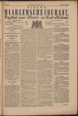 Nieuwe Haarlemsche Courant 1901-01-24