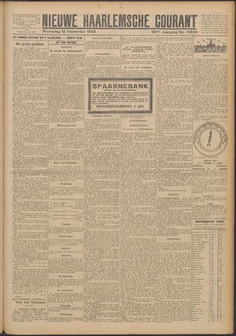 Nieuwe Haarlemsche Courant 1923-09-12