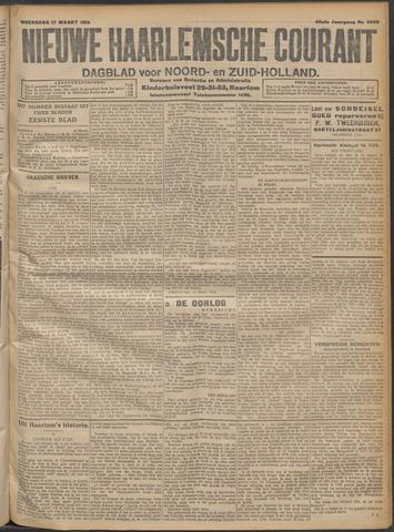 Nieuwe Haarlemsche Courant 1915-03-17