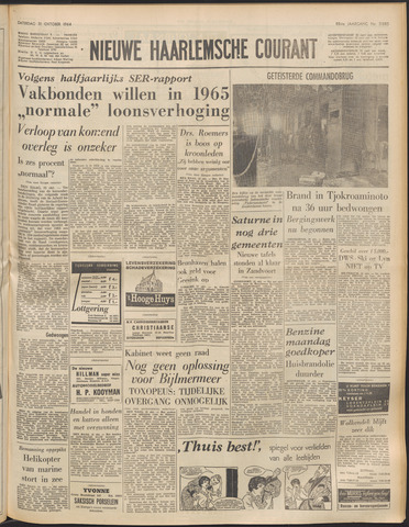 Nieuwe Haarlemsche Courant 1964-10-31