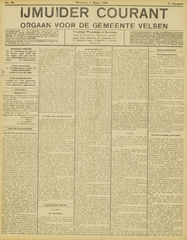 IJmuider Courant 1922-03-01