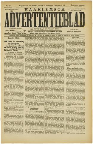Haarlemsch Advertentieblad 1898-02-19