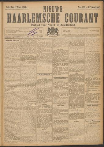 Nieuwe Haarlemsche Courant 1906-11-17